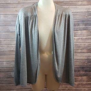 ZELLA Athena Open Back Draped Cardigan size S